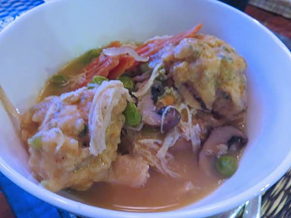 Slow Cooker Chicken Stew With Herbed Dumplings Recipe