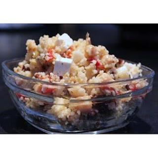 Cold Mediterranean Couscous Salad