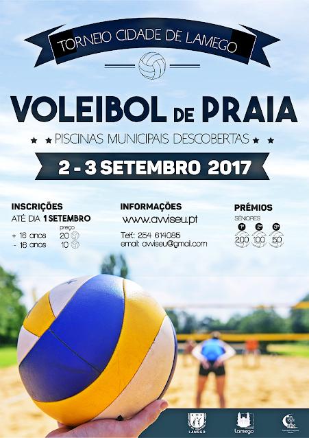 Torneio Cidade de Lamego - Voleibol de Praia - 2017