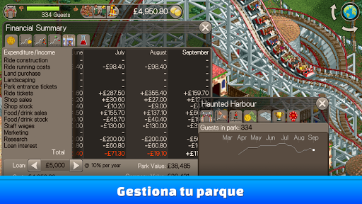 RollerCoaster Tycoon Classic para Android