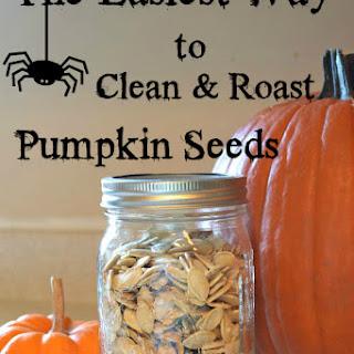 How to Roast Salted Pumpkin Seeds.