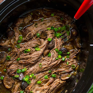Slow Cooker Beef Brisket Recipe