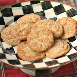Snickerdoodle Cookies.