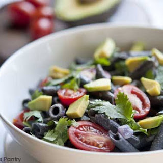 Clean Eating Black Bean Pasta Salad.
