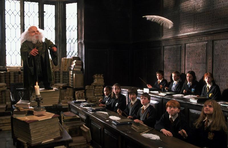 "Photo: Harry Potter and the Sorcerer's Stone - ""Wingardium Leviosa!"""