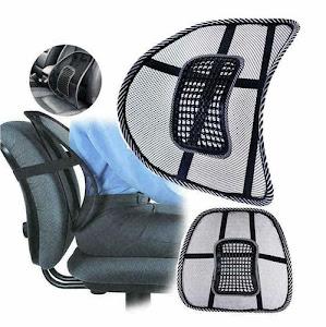 Set 2 perne lombare pentru scaunul de birou