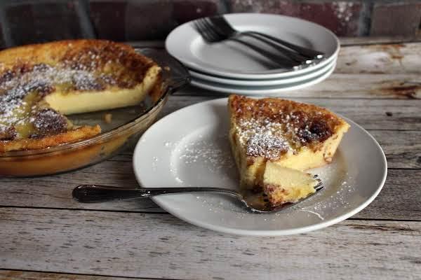 Magic Crust Custard Pie Recipe