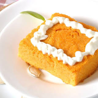 Pumpkin Pie – 1 Point Weight Watchers.