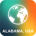 Alabama, USA Offline Map icon