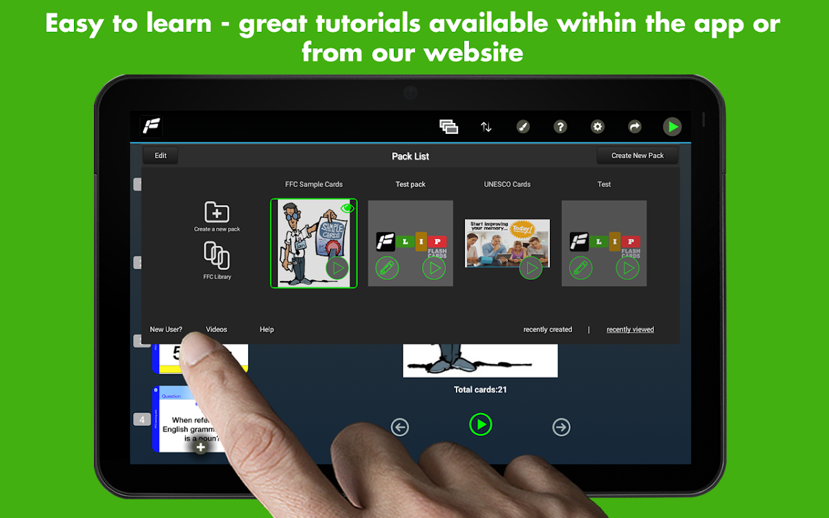 Flip Flash Cards – (Android Apps) — AppAgg