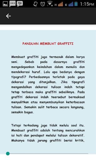 玩免費遊戲APP 下載Cara Menggambar Grafiti app不用錢 硬是要APP