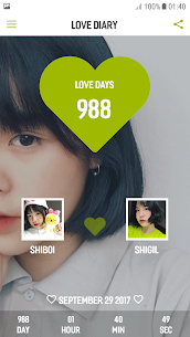 Love Diary (Love Memory, Love Days Counter) 126.20 Mod + APK + Data UPDATED 3