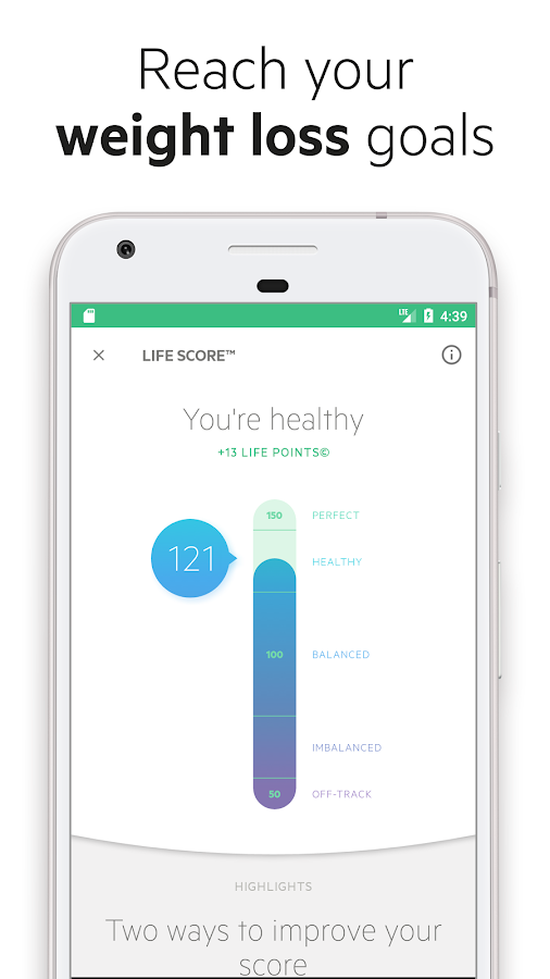 Lifesum: Calorie Counter, Food & Nutrition Tracker- screenshot