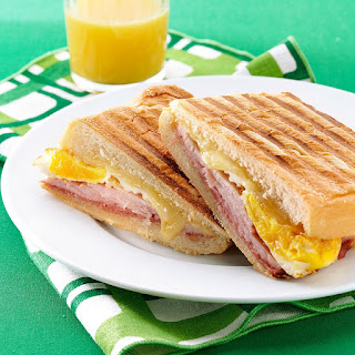 Cuban Breakfast Sandwiches.