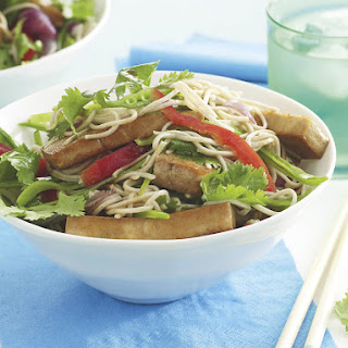 Teriyaki Tofu and Soba Noodle Salad.