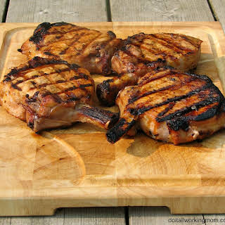 Marinated Grilled Pork Chops.