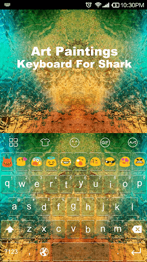 Art Painting-Emoji Keyboard