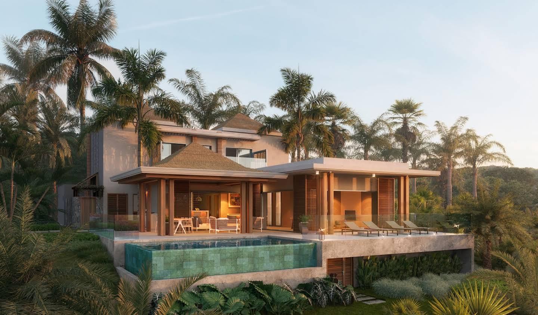 Villa avec piscine et jardin Bel Ombre