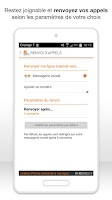 Screenshot of Livebox Phone