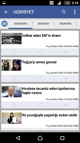 android Türkiye Haber Screenshot 3