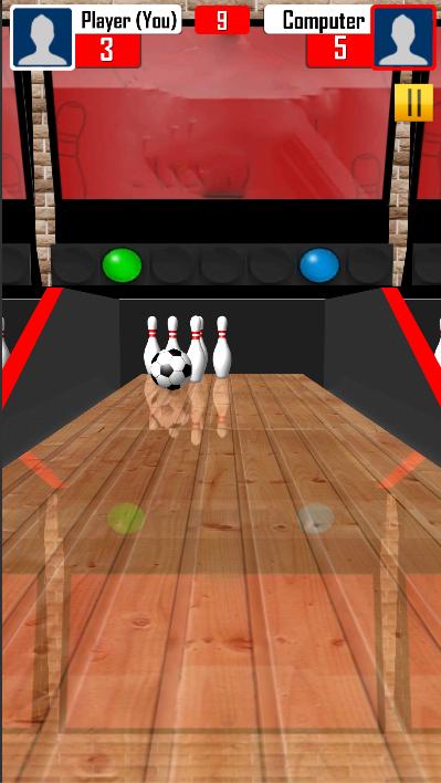 Скриншот Bowling : Best 3d Bowling Game 2018 Free (New) 🎳