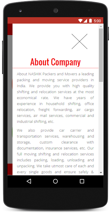 Nashik Packers and Movers- screenshot