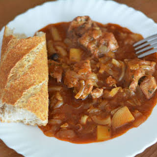 Slow Cooker Hungarian Goulash.