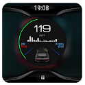 Black V3 - theme for CarWebGuru Launcher icon