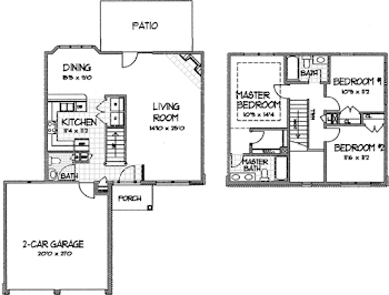Go to Carlyle Floorplan page.