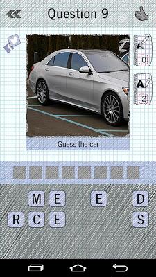 Guess The Cars : Quiz - screenshot