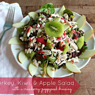 Turkey, Kiwi, and Apple Salad