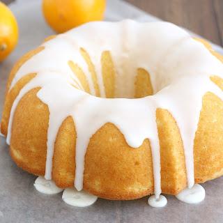 Glazed Meyer Lemon Buttermilk Bundt Cake.