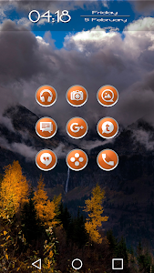 Enyo Orange - Icon Pack screenshot 6