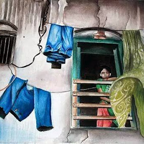water color on paper by Anand Sharma - Drawing All Drawing