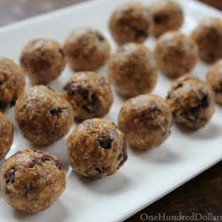 Peanut Butter Protein Balls.