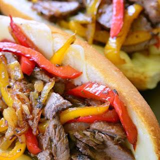 Fajita Philly Steak Sandwich