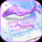 Cute Whale Keyboard Theme
