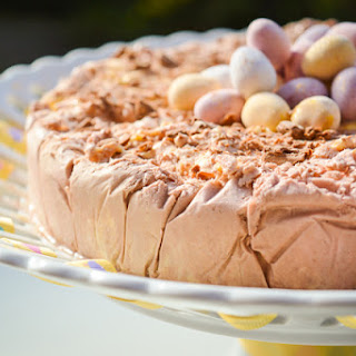 Easter Ice Cream Cake.