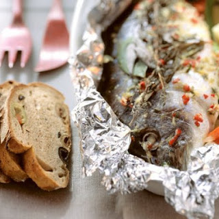 Foil-baked Sea Bream