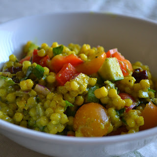 Curried Couscous & Vegetable Salad