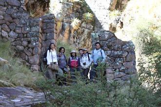Photo: Portada al ingreso al cañón Pumapunko Camino Inca que va de Tambomachay a Huchuyqosqo