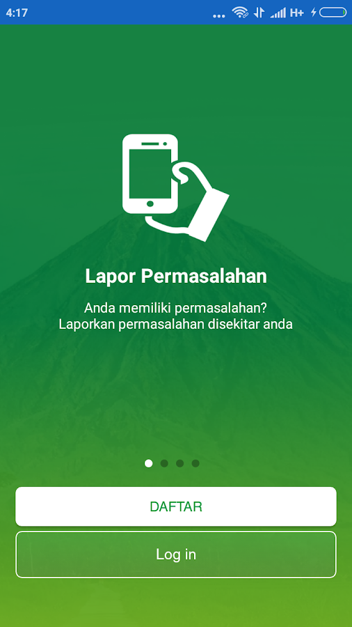 Lapor Sleman - Smart Regency- screenshot