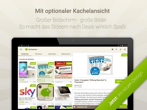 MyTopDeals - Schnäppchen App  screenshots 11