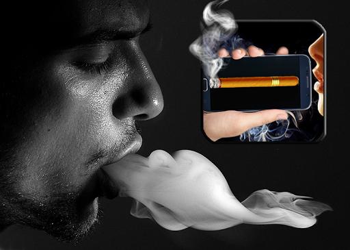سيجارة وهمية