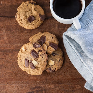 Chocolate Macadamia Almond Cookies
