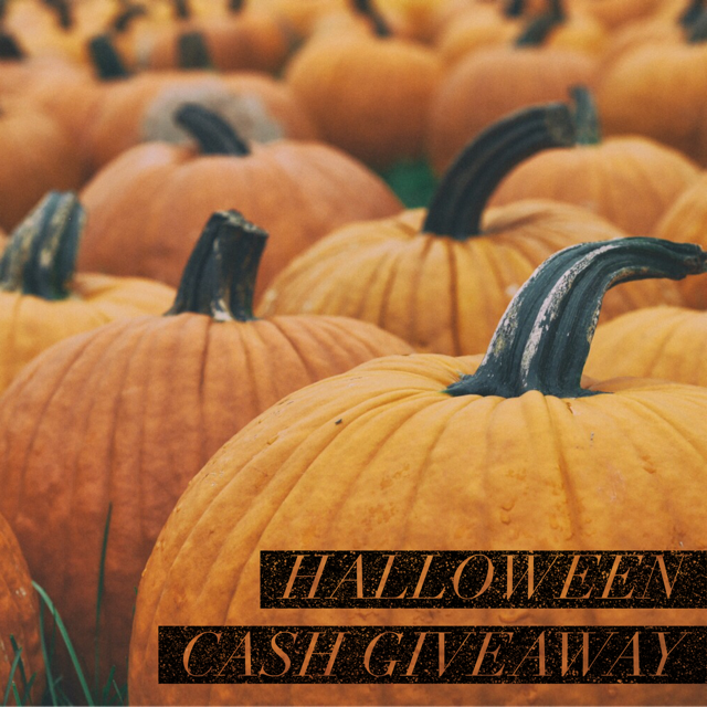 $300 Halloween Cash Giveaway