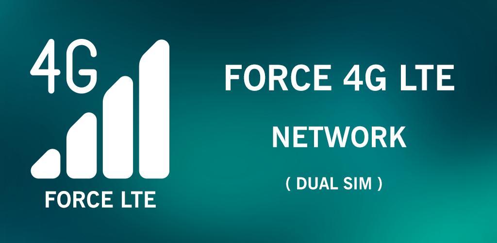 Baixar Force LTE Only 1 1 Apk - com ZEXinc forceltemode APK
