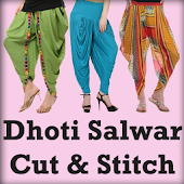 DHOTI SALWAR Cutting and Stitching VIDEOS