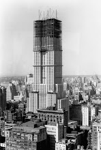 Photo: 1929-1931, Manhattan, New York City, New York State, USA --- Empire State Building Under Construction --- Image by © Bettmann/CORBIS