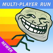 Troll Face Multiplayer Runner